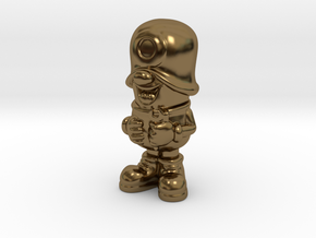 SmileCappy FullColor in Polished Bronze