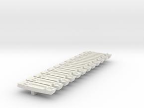 1/700 LCA on Sprue in White Natural Versatile Plastic