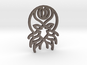 Cthulhu in Polished Bronzed Silver Steel