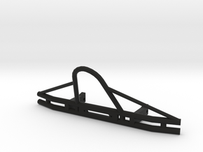 SCX-10 Tube Bumper (6.5in) in Black Strong & Flexible