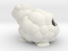 Salt Pepper Sheep in White Natural Versatile Plastic
