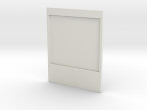 Polaroid Photoframe in White Strong & Flexible