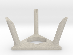 Twisty Puzzle Stand in Natural Sandstone