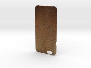 Iphone6 Leather Wild Brown in Full Color Sandstone