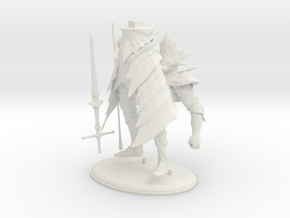 Dark Souls Ornstein Printable in White Strong & Flexible