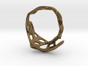 s3r013s8 GenusReticulum    in Polished Bronze