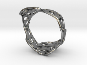 s3r020s8 GenusReticulum  in Fine Detail Polished Silver