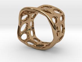 s3r031s7 GenusReticulum  in Polished Brass