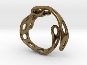 s4r020s7 GenusReticulum  in Polished Bronze