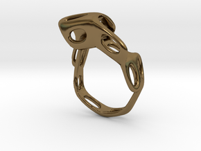 s4r021s6 GenusReticulum  in Polished Bronze