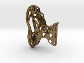 S4r011s7 GenusReticulum in Polished Bronze
