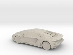 Lamborghini Aventador in Natural Sandstone