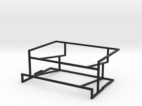 Horizontal Deck Tray in Black Strong & Flexible