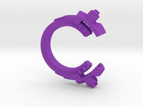 Future Trends - size 5 in Purple Processed Versatile Plastic