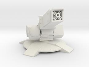 1/144 Synchro Cannon in White Natural Versatile Plastic