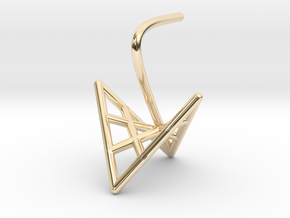 duckling (small) in 14k Gold Plated Brass