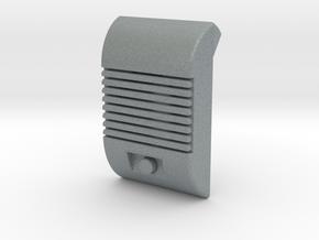 Drive In Speaker Ramp Flap Cover in Polished Metallic Plastic
