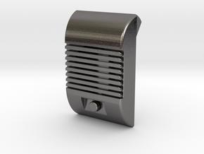 Drive In Speaker Ramp Flap Cover in Polished Nickel Steel