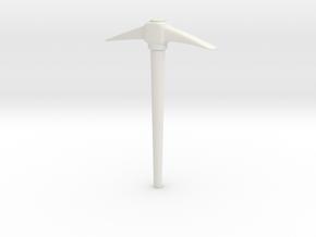 PickAxe  in White Natural Versatile Plastic