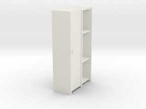 A 009 - 1 Schrank Cabinet 1:50 in White Strong & Flexible