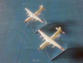 1/1200 Antonov An-12 / Shaanxi Y8 x2 in Smooth Fine Detail Plastic