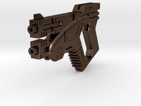 1/6 M3 Predator- Mass Effect Gun in Polished Bronze Steel