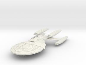 Armada Class II HvyCarrierCruiser in White Strong & Flexible