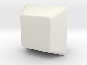 Key Cap in White Strong & Flexible