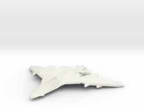 Dragon Spear in White Natural Versatile Plastic