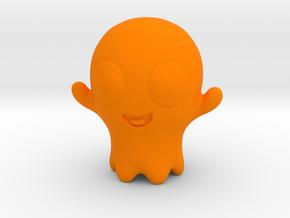 Boo-Boo the little ghost in Orange Processed Versatile Plastic