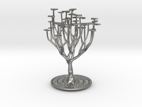 'I Love You' Tree in Natural Silver
