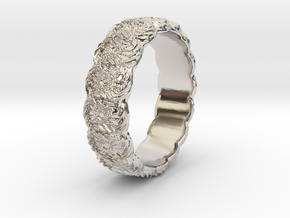 Daisy - Ring in Rhodium Plated: 6.75 / 53.375