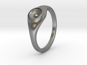 Liza - Ring - US 6¾ - 17.12mm in Natural Silver