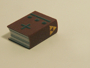 Zelda Fan Art: TLoZ: Book of Magic in Full Color Sandstone