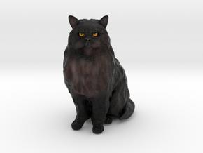 Custom Cat Figurine - Guizmo in Full Color Sandstone