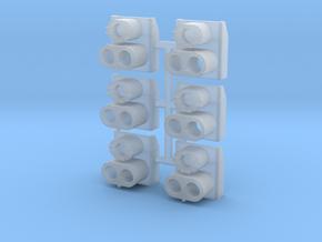 SP Rear Cluster (N - 1:160) 6X in Smoothest Fine Detail Plastic