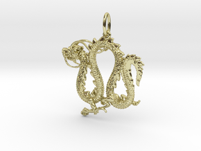 Dragon pendant # 4 in 18K Gold Plated
