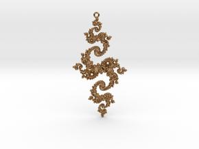 Julia Pendant 1 XLP in Polished Brass