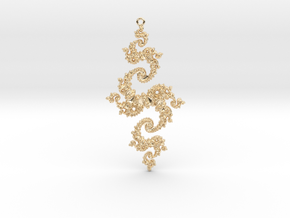 Julia Pendant 1 MP1 in 14K Yellow Gold