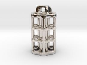 Tritium Lantern 5B (3x22.5mm Vials) in Platinum
