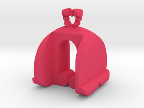 I♥U Shape 2 - LP1 in Pink Processed Versatile Plastic