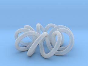 (9, 2) Spiral Torus in Smooth Fine Detail Plastic