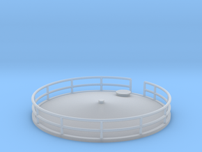 'N Scale' - Storage Tank Top - 16.67 Ft in Smooth Fine Detail Plastic