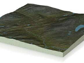 Terrafab generated model Mon Jun 29 2015 09:52:06  in Full Color Sandstone