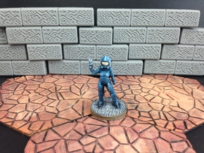 Dominion Sergeant (28mm/Heroic scale) in White Processed Versatile Plastic