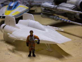 A-Wing 1/72 scale in Smoothest Fine Detail Plastic