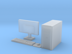 1:35 Scale PC in Smooth Fine Detail Plastic