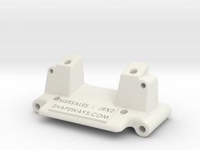 LOSI front bulkhead JRX JRX-2 Buggy RC in White Strong & Flexible