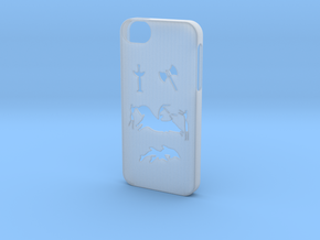 Iphone 5/5s minoan civilization case in Smooth Fine Detail Plastic