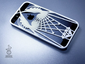 wings iphone 5 case  in White Processed Versatile Plastic